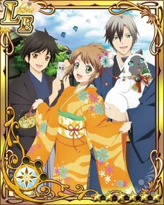 New Year Jude, Ludger, Leia, and Lulu