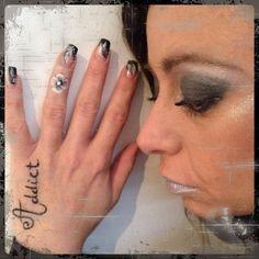 Make up by Deb  Nail Art by Marion