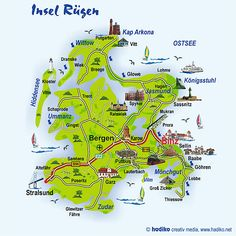 The Island Rügen, my favourite German Island. In the Baltic Sea.