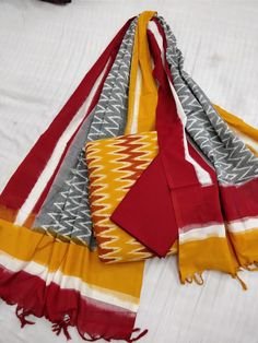 Elegant Fashion Wear Explore the trendy fashion wear by different stores from India Diwali Fashion, Indian Fashion, Cotton Anarkali, Ikkat Dresses, Churidar Designs, Batik Fashion, Elegant Fashion Wear, Elegant Saree, Indian Designer Wear