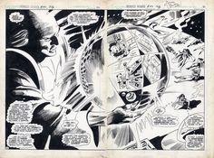 Gene Colan Original Art - Wonder Woman #293 Pages 20 & 21