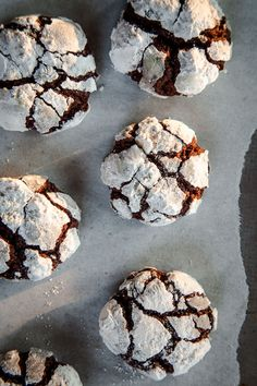 Chocolate Crackle Cookies by Irvin Lin of Eat the Love. www.eatthelove.com