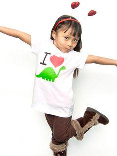 I Love Dinosaurs Toddler T-Shirt