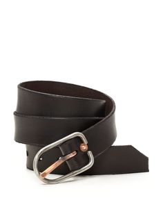 Every man needs one black belt and one brown belt, you see.