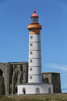 Saint-Mathieu Lighthouse, Pointe Saint-Matthieu, Bretagne, France