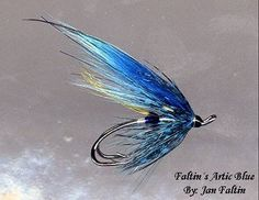 Faltin's Artic-Blue, A Jan Faltin Fly