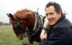Monty Don with carthorse