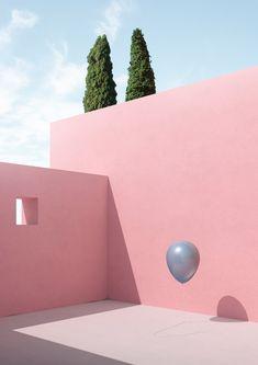 Objects Float in These Minimalist Scenes | Netfloor USA