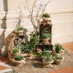 allestimenti matrimonio con piante aromatiche - Cerca con Google Green Wedding, Wedding Day, E Design, Ladder Decor, Lavender, Wedding Decorations, Shabby, Rustic, Google