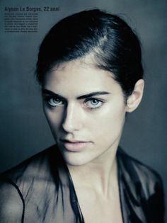 Alyson Le Borges photographed by Paolo Roversi - Vogue Beauty: January 2011