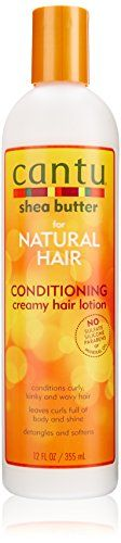 Cantu Shea Butter for Natural Hair Creamy Hair Lotion, 12 Ounce - http://naturalhaircaretoday.com/natural-hair-care-today/natural-hair/cantu-shea-butter-for-natural-hair-creamy-hair-lotion-12-ounce/