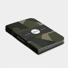Swedish Camo (3pk) Word. Notebook $9.99