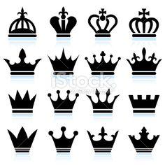 Nice and simple crown designs