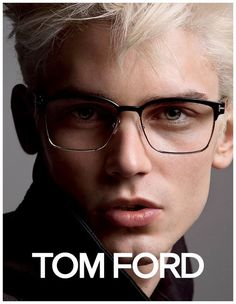 a0acad33c9f French Model Arthur Gosse Goes Blond for Tom Ford Eyewear Spring 2015 Mens  Campaign