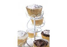 #CakeDecorating #Shop PME White Spiral #Cupcake Stand http://www.mycakedecoratingshop.co.uk/cake-cupcake-shop/cake-cupcake-accesories/cake-cupcake-stands/spiral-cupcake-stand-white-pme