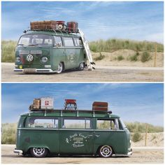 VW Type 2 Bay Window Transporter... .... NICE .... in a great setting!