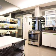 Decoração Cozinha planejada Cozinha Branca basiches 636