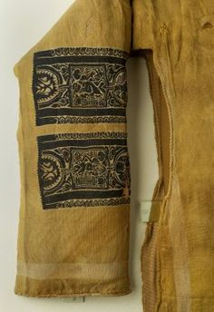 Coptic. Tunic with Mythological Motifs, 7th century C.E. Wool, 53 1/2 x 101 in. (135.9 x 256.5 cm). Brooklyn Museum, Charles Edwin Wilbour Fund, 41.523 Brooklyn Museum additional views