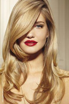 uzun sarışın bi saç modeli