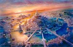 Atlantis... did they survive the great cataclysm  by going under? :) fun to dream