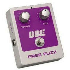 Brand New Bbe Free Fuzz Guitar/bass Fuzz Effect Pedal **Authorized Dealers by BBE. $57.00. BRAND NEW BBE FREE FUZZ GUITAR/BASS FUZZ EFFECT PEDAL Features:  Vintage '70s fuzz Biased matched silicon transistors Volume and fuzz controls ¼: inputs and outputs True hard-wire bypass 9V battery, AC adaptor included (North America only)
