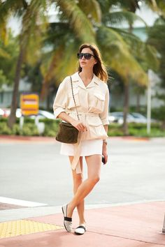 Diego Zuko captures the best looks on the street from the art fair by the beach.