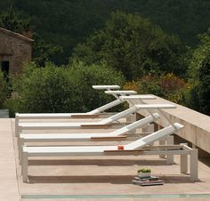 Discover Shine Sunbed and all Emu collection on Mohd. Emu, Garden Furniture, Outdoor Furniture, Outdoor Sofa, Outdoor Decor, Décor Boho, Garden Bridge, Space Saving, Decoration