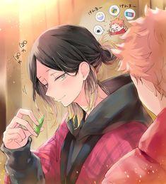 Hinata Shouyou, Kenma Kozume, Iwaoi, Kuroken, Haikyuu Fanart, Haikyuu Anime, Manga Anime, Anime Art, Anime Boys