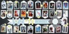 Creative Memories -30 day Layout.   I love this idea.  Here's a challenge: pick a subject (a child, spouse, parent, teacher) capture on film one special thing about  them each day!