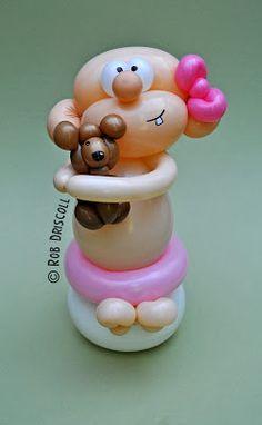 My Daily Balloon: 9th June - Baby Girl