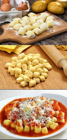 Cooking Games For Kids Gnocchi, I Love Food, Good Food, Yummy Food, Cooking Time, Cooking Recipes, Salty Foods, Diy Food, Italian Recipes