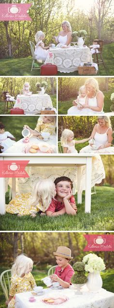 Katherine Mendieta Photography » Adorable Tea Party Photo Session. click here for the even more adorable Video of this session --> http://www.katherinemphoto.com/a-day-with-estella/