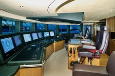 75.5m Motor Yacht Anastasia with exterior & interior Designer Sam Sorgiovanni. Builder: Oceanco. Naval Architect: Azure Naval Architects, Oceanco