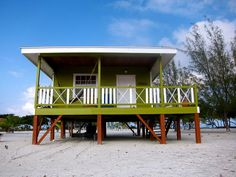 Our cabana at Coco Plum