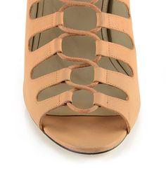 Tie Up Heels, Skin Line, Designer Shoes