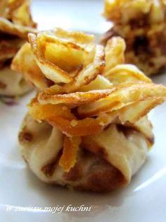 Sakiewki naleśnikowe z prażonymi jabłkami