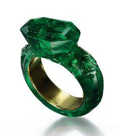 emerald ring. Goudsmidmargriet.com verwerkt mooie edelstenen in een sieraad!