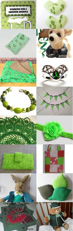 It's Not Easy Being Green by Jo Blanset on Etsy--Pinned with TreasuryPin.com