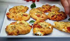 Greek Recipes, Desert Recipes, Pita Bread, Antipasto, Cheese Recipes, Baked Potato, Food To Make, Bakery, Food And Drink