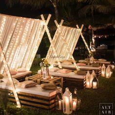 Latest fun and Creative Mehendi decor Ideas for Upcoming Weddings#shaadisaga #indianwedding #mehendidecor #mehendidecorideas #mehendidecorideasathome #mehendidecorsimple #mehendidecorbackdrops #mehendidecorideasatterrace #mehendidecorideasstagedecor #mehendidecorathomediy #pastelmehendedecor #mehendidecortheme #indianmehendidecor #indoormehendidecor #bohomehendidecor #mehendidecorideasathometerrace #pinkmehendidecor #quirkymehendidecor Cosy Decor, Outdoor Wedding Decorations, Table Decorations, Garden Party Decorations, Wedding Trends, Wedding Ideas, Desi Wedding Decor, Dream Wedding, Party Wedding
