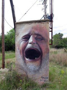 #Streetart from Gaser http://www.designwars.com/graffiti_streetart/gaser-monumental-murals/