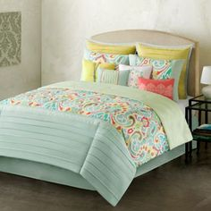 Home Classics Interlude 10-pc. Comforter Set-Kohl's. So why is this available only in King size? And...no longer available!