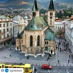 #Repost @zgrabisad with @repostapp ・・・ Sarajevo, Bosnia and Herzegovina / #carhedral #tram #sarajevo #worldplaces #bosna #trip #tourism #wanderlust #travel #beautifuldestinations #bucketlist #bosnia #balkan #bih #bosniaandherzegovina #balkans #europe #zgrabisad