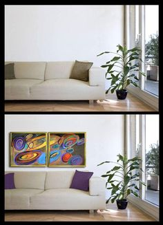 Do you have a bland room and aren't sure what to do with it? Framed art is a great starting point. Choose art you love and have it professionally framed to preserve and present it. The colors in the art will provide inspiration for accessorizing the rest of the room.