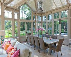 dining table sunroom. Interior Design Ideas. Home Design Ideas