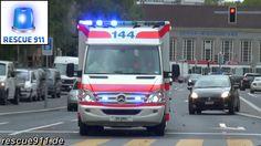 Feuerwehr, Rettungsdienst, Polizei Zürich