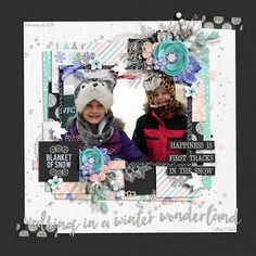 Layout using {Blanket of Snow} Digital Scrapbook Kit Meghan Mullens and Sugary Fancy Designs available at Sweet Shoppe Designs http://www.sweetshoppedesigns.com/sweetshoppe/product.php?productid=32840&cat=790&page=1 #wilddandeliondesigns
