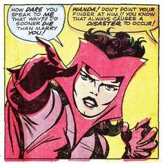 Oh Wanda... you WITCH  ... Scarlet  Witch ... °°