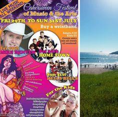 Summer Festivals in Kerry ~ #CaherciveenFestival #MikeDenver #Hometown #HellsBells #Entertainement #SummerFestivals