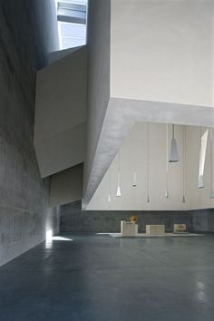 Foligno Concrete Church by Fuksas, Italy    http://www.iljaburchard.com/?page_id=396